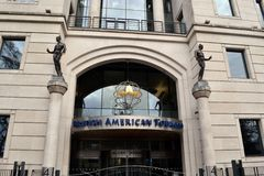 British American Tobacco Lokuje Londyn Obrazy Stock