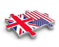 British American Union Royalty Free Stock Photography