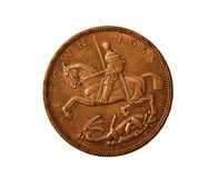 British Crown Coin Stock Image