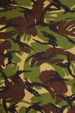 British armed force dpm camouflage fabric Stock Images