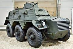 British armoured personnel carrier Alvis Saracen. In museum Stock Photos