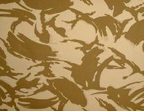 British Army Desert DPM Camouflage stock photo