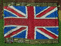 British Army Flag Patch Royalty Free Stock Images