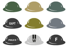 British Army MkII helmets Royalty Free Stock Image