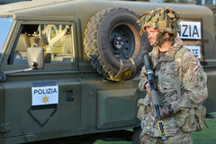 British Army Soldier Stock Photo