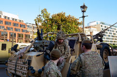 British Army Soldiers Stock Photos