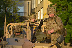 British Army Soldiers Stock Images