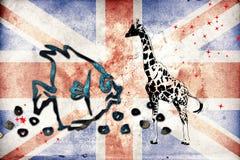 British art design illustration Stock Photos