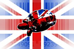 British art design illustration Stock Photo