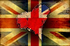 British art design illustration Stock Images