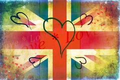 British art design illustration Royalty Free Stock Photography