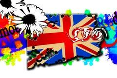 British art design illustration Stock Photography