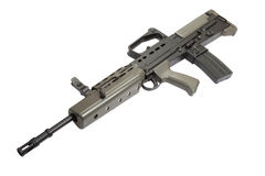 British assault rifle L85A1 isolated Royalty Free Stock Images