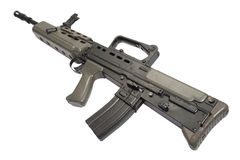 British assault rifle L85A1 Stock Images