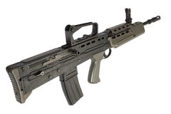 British assault rifle L85A1 Stock Photo