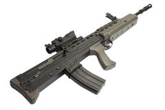 British assault rifle L85A1 Stock Image