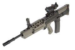 British assault rifle L85 Royalty Free Stock Photo