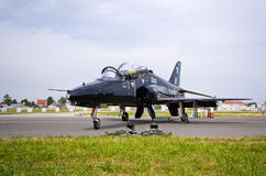 British BAE Systems Hawk on Radom Airshow, Poland Royalty Free Stock Image