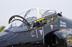 British BAE Systems Hawk on Radom Airshow, Poland Stock Images
