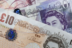 British Bank Notes Stock Photography