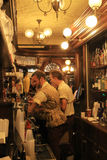 British bar in Florida. Old style London bar at international pavilion at Epcot. indoors. Orlando, Florida royalty free stock photography