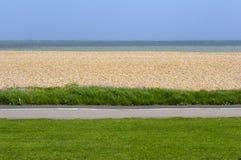British beach Royalty Free Stock Image