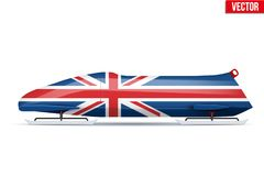 British Bob for Bobsleigh Stock Photography