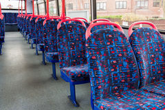British bus interior Royalty Free Stock Photos