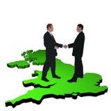 British business meeting Stock Photo