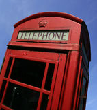 British call box. A British call box, or phone booth, in England stock image