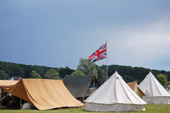 British camp Stock Images