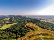 British Camp north promontory, malvern Hills Royalty Free Stock Photography