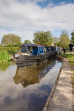 British Canal Narrowboat Stock Photography