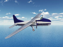 British cargo aircraft of the 1940s Royalty Free Stock Images
