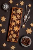 Fruit Mince Tart royalty free stock images