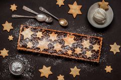 Fruit Mince Tart stock images