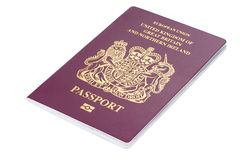 British citizen passport Stock Image