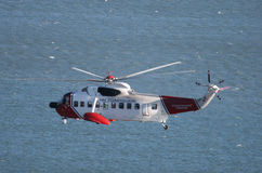 British Coastguard Chopper Stock Images