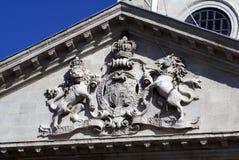 British coat of arms Stock Photos