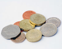 British coins stock photography