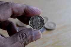 BRITISH COINS Royalty Free Stock Photos