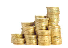 British coins Royalty Free Stock Photography