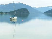 British Columbia Canada Lake Stock Photos