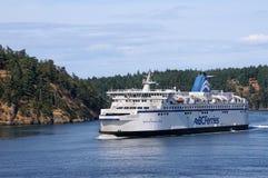 British Columbia ferry ship Stock Photo