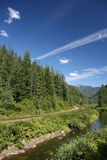 British Columbia landscape Stock Photo