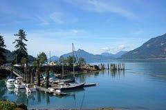 British Columbia, Pacific coast Stock Image