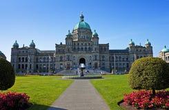 British Columbia parlament Royaltyfri Bild