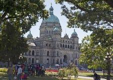 British Columbia parlamentbyggnad Royaltyfri Bild