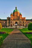 British Columbia Parliament Stock Photography