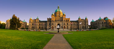British Columbia Parliament Royalty Free Stock Images